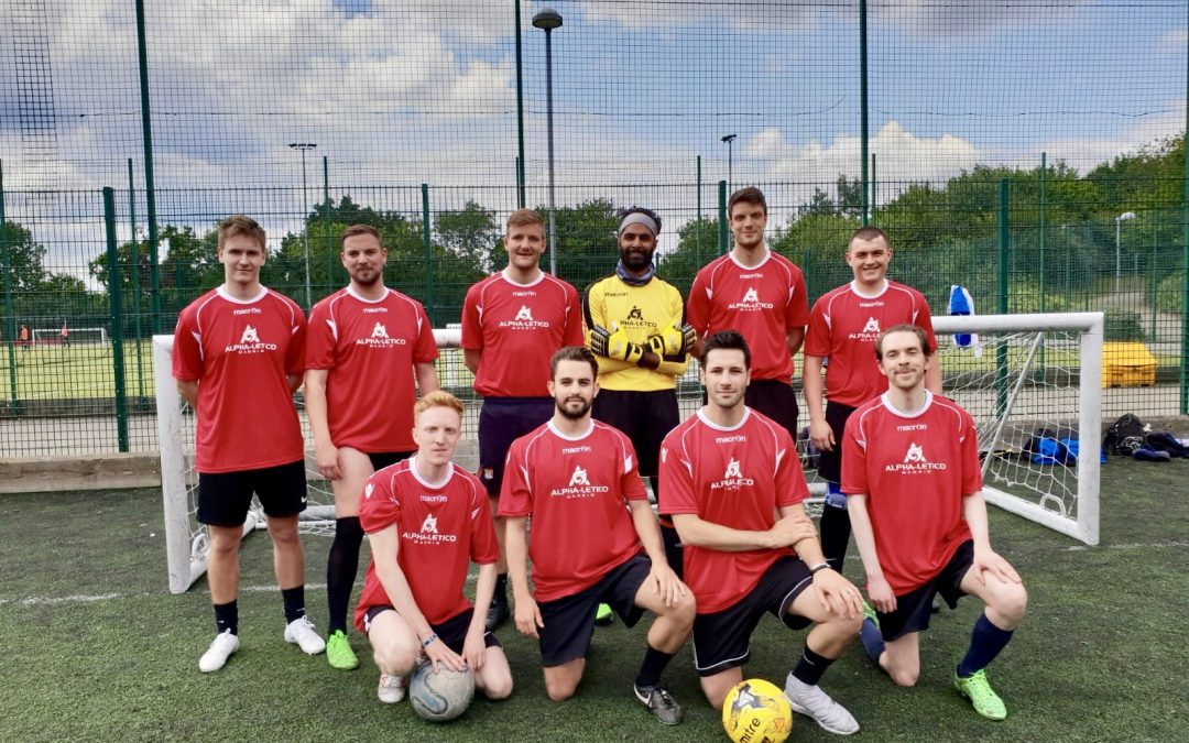 Alpha Group reaches the semi-finals of the Toy Trust football tournament