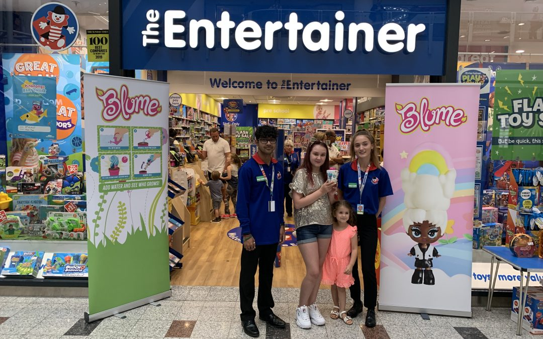 SKYROCKET UK HOSTS REVOLUTIONARY 'BLUMING' REVEAL AT THE ENTERTAINER NATIONWIDE
