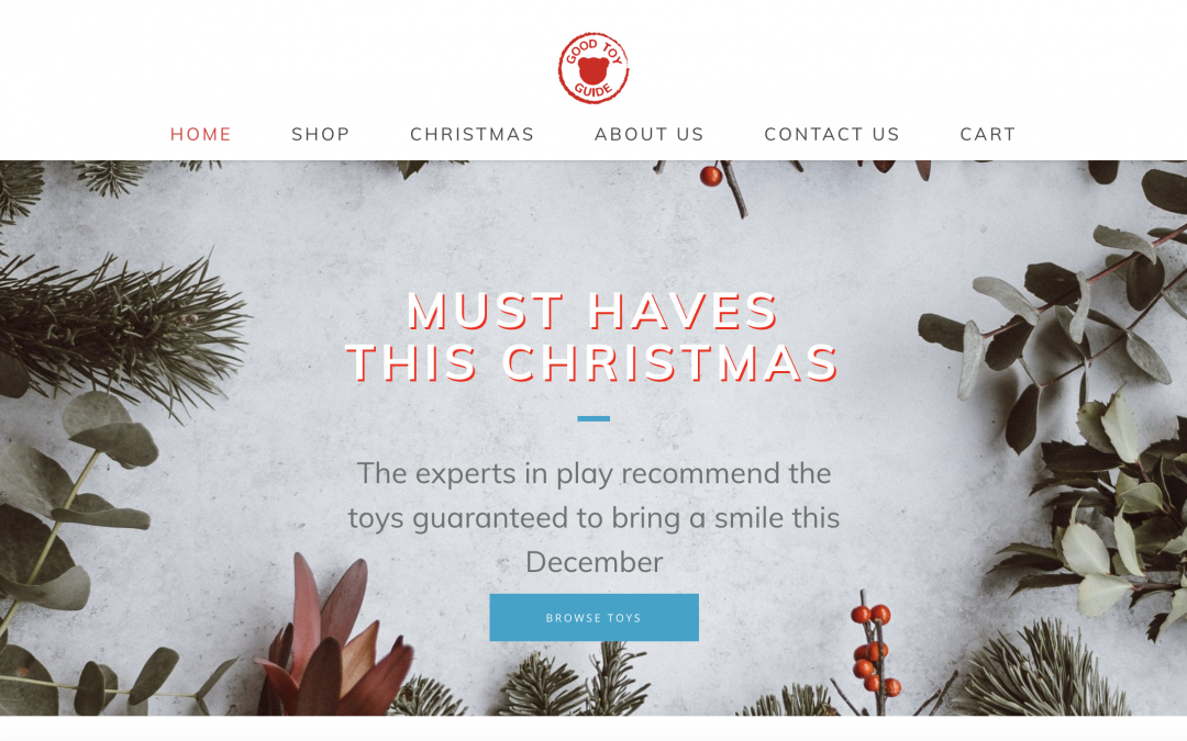 The Good Toy Guide responds to consumer demand with eCommerce solution