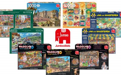 Jumbo Games announce 60 new puzzles for Spring '19