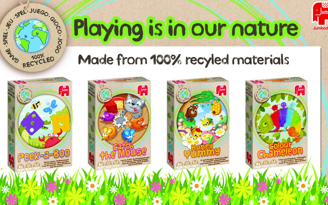Jumbo Games' Sustainable Eco-Play for Children!