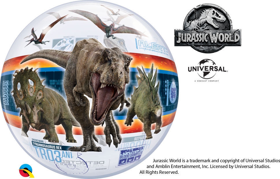 QUALATEX OFF TO A ROARSOME START WITH JURASSIC WORLD FALLEN KINGDOM RANGE