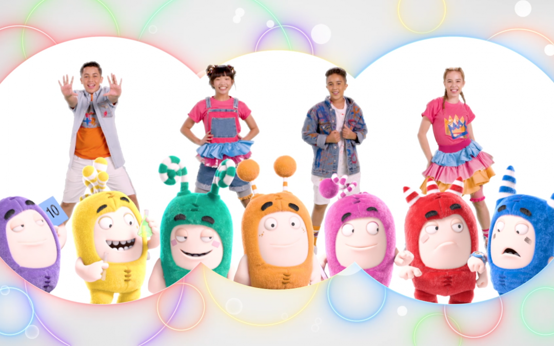 YOUTUBE SENSATION, ODDBODS, ANNOUNCES COLLABORATION WITH  KIDZ BOP THE NO.1 U.S MUSIC BRAND FOR KIDS