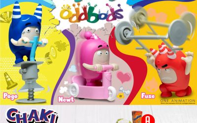 ODDBODS SERVE UP MAJOR QSR DEALS