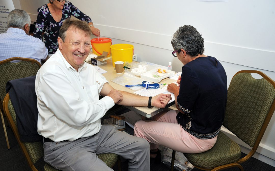 Bucks Freemasons provides free PSA tests to over 170 locals