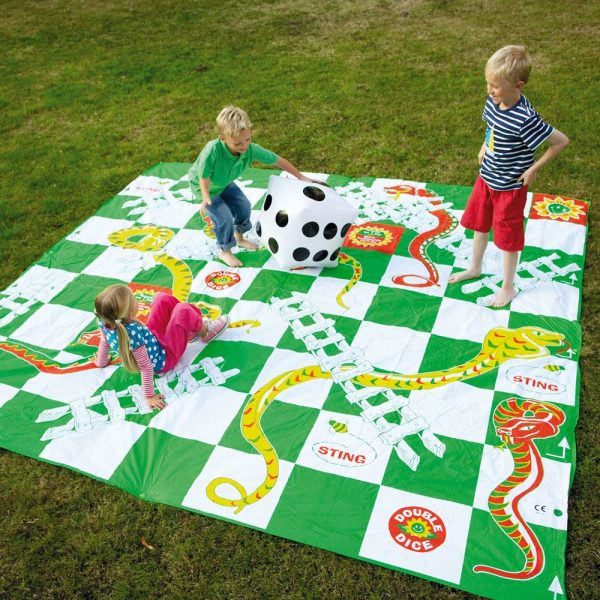 Jumbo Games Garden Snakes and Ladders