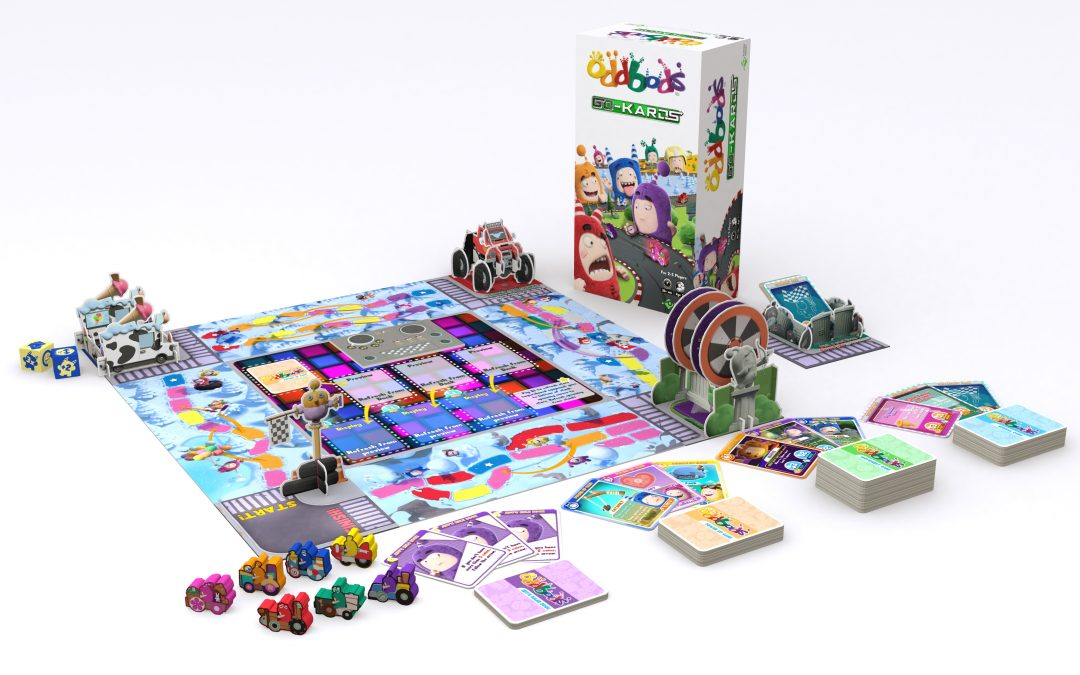 ONE ANIMATION LAUNCHES ODDBODS GO-KARDS GAME EXCLUSIVELY ON KICKSTARTER